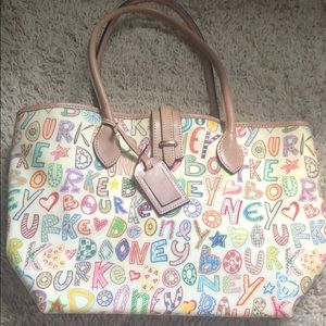Dooney and Bourke print tote